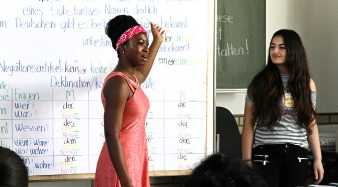 Ausbildungsvorbereitung für Migrantinnen und Migranten
