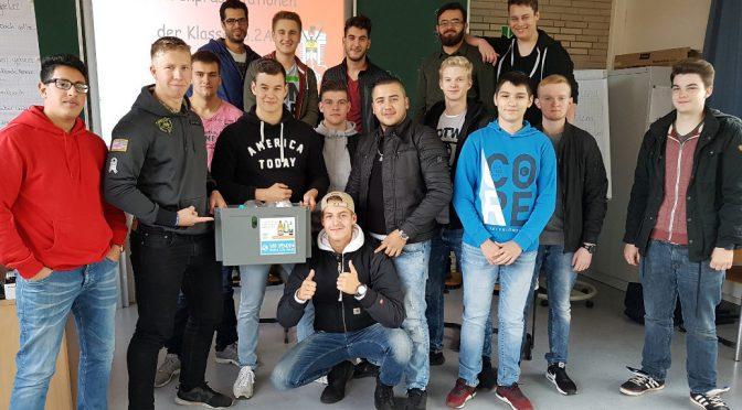 Schüler unterstützen Spendenaktion