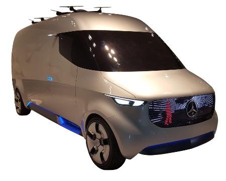 Ein Elektrotransporter von Mercedes